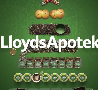 Lloyds Apotek Julkampanj